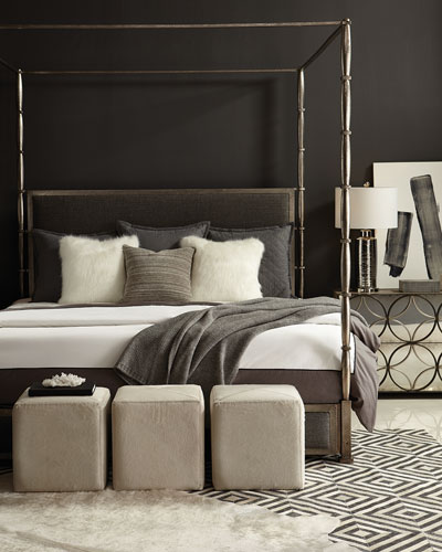 Dominic King Canopy Bed