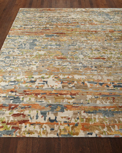 Jeffrey Hand-Knotted Area Rug  9' x 12'