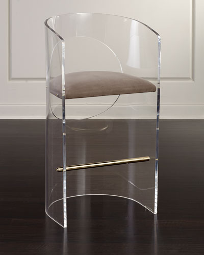 Corin Acrylic Bar Stool