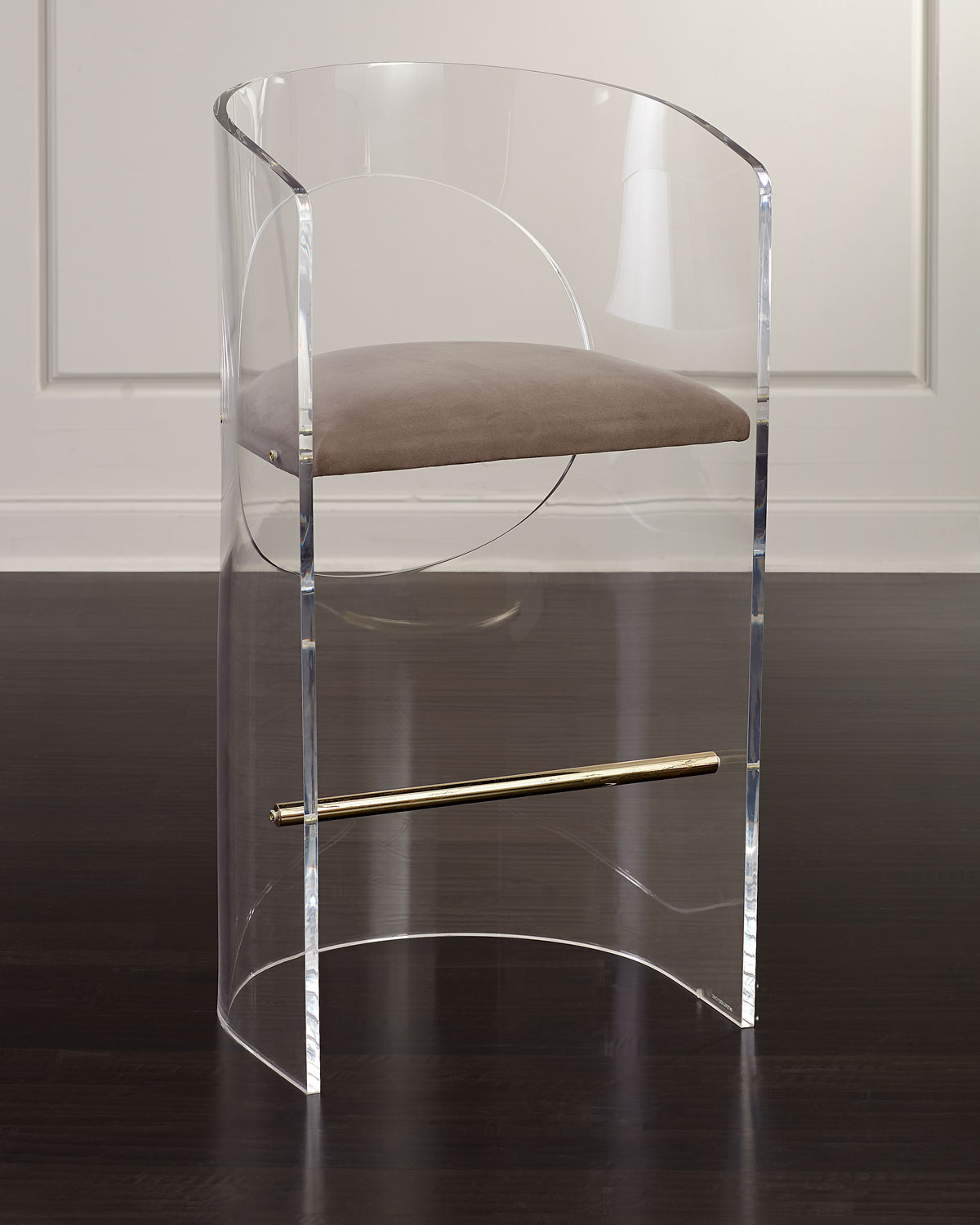 Interlude Home Corin Acrylic Bar Stool Neiman Marcus