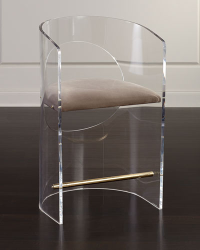 Corin Acrylic Counter Stool