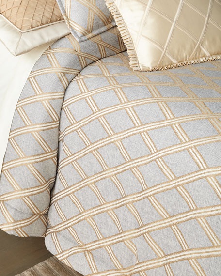 Austin Horn Collection Elegance 3-Piece Queen Comforter Set