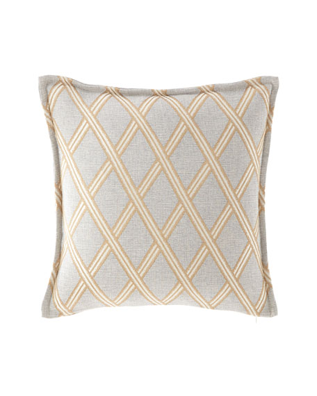"Austin Horn Collection Elegance Pillow, 20""Sq."