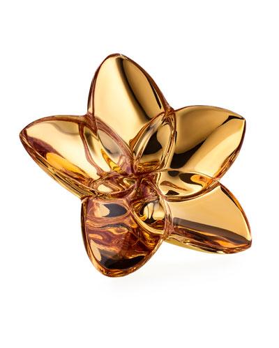Bloom 20K Gold Crystal Decor