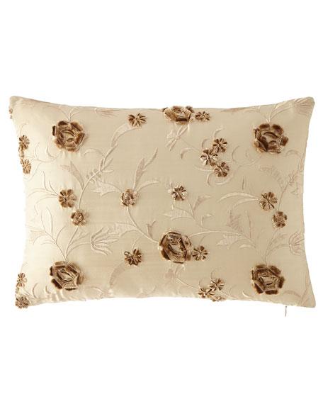 "Austin Horn Collection Sophia Boudoir Pillow, 14"" x 20"""