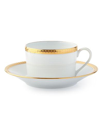 Symphony Gold Tea Cup & Saucer