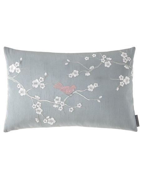 Chinoiserie Small Rectangular Pillow