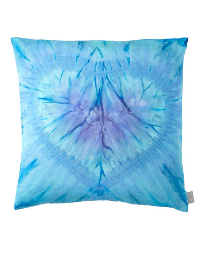 One Love in Azure Pillow