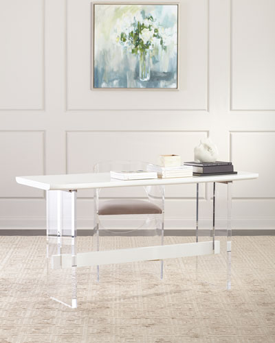 Quentin Counter Height Acrylic Table