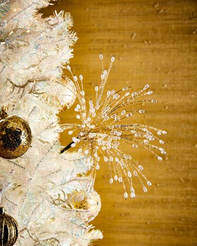 Gold & Silver Star Burst Beaded Spray