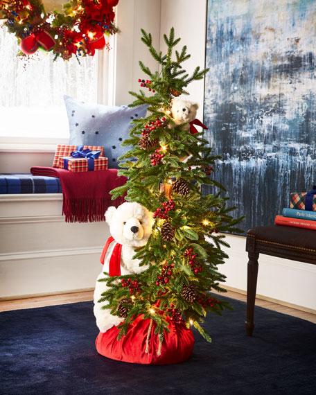 Ditz Designs By The Hen House Polar Bear Play Christmas Tree