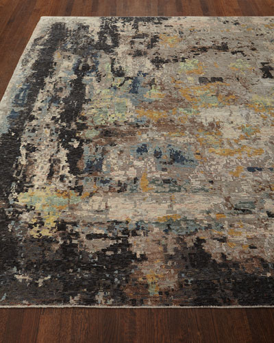 Cortlandt Hand-Knotted Rug  6' x 9'