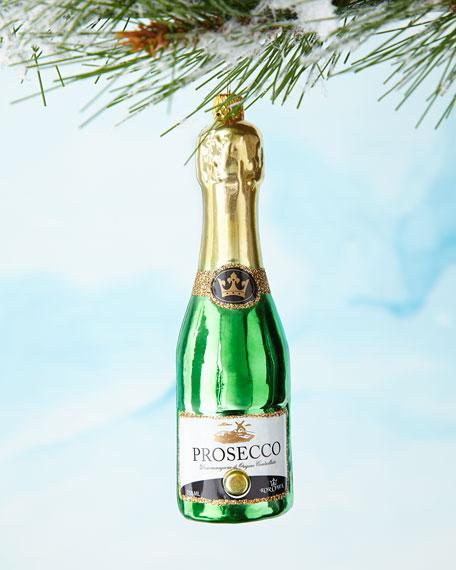 Prosecco Bottle Ornament