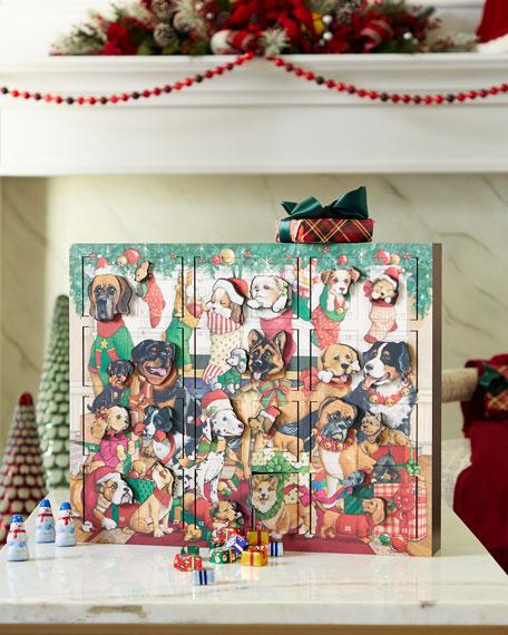 Byers' Choice Dogs Christmas Advent Calendar