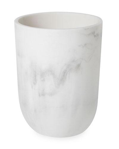 Carrara Collection Wastebasket