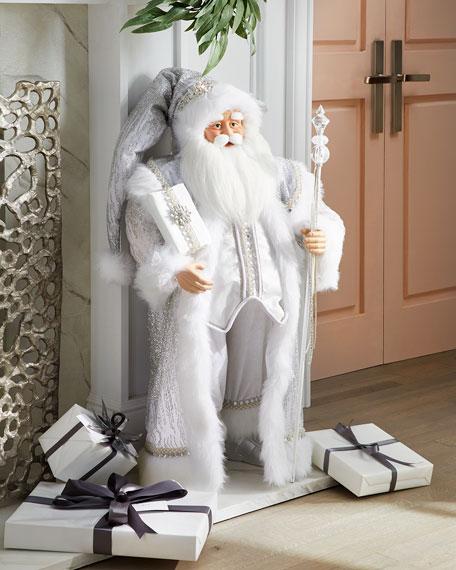 """Crystal Christmas Santa, 37"""""""