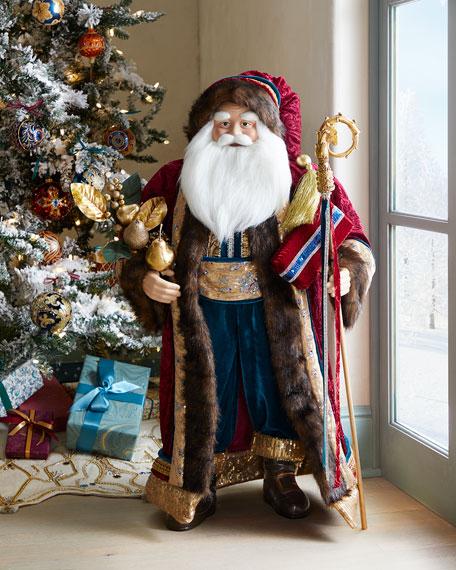 """Spiritual Christmas Santa, 37"""""""