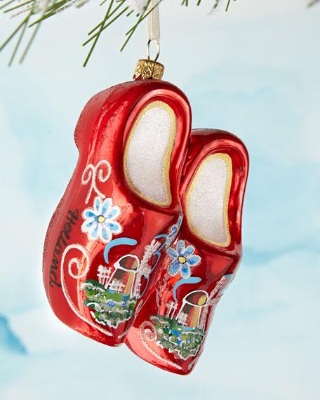 Wooden Shoes Ornament