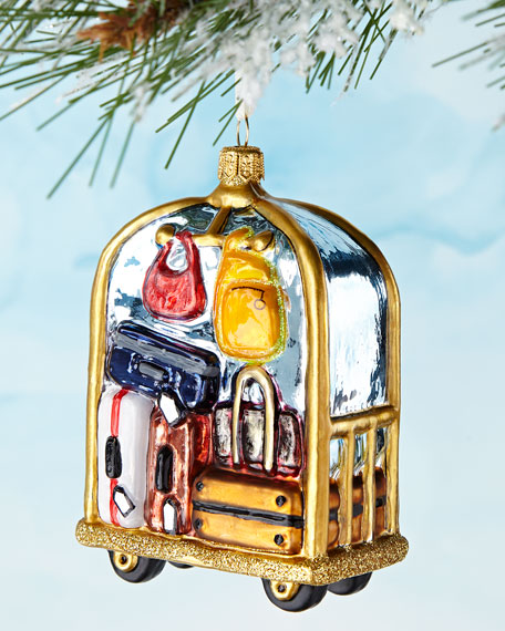 Bellboy Trolley Ornament
