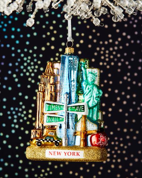 New York Landscape Ornament