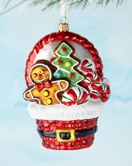 Christmas Basket Ornament