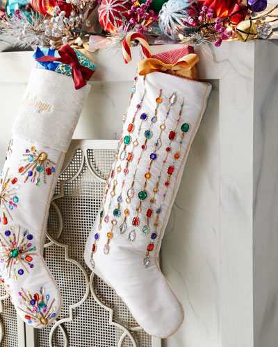 Holiday Sparkle Stocking
