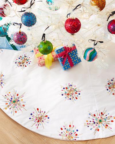 Holiday Sparkle Tree Skirt