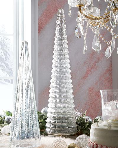 36 Clear Glass Tree