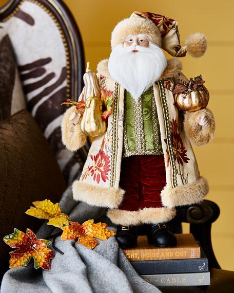 Harvest Tabletop Santa