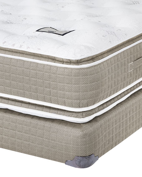 Shifman Mattress Saint Michele Villa Rosa Collection California King Mattress & Box Spring Set