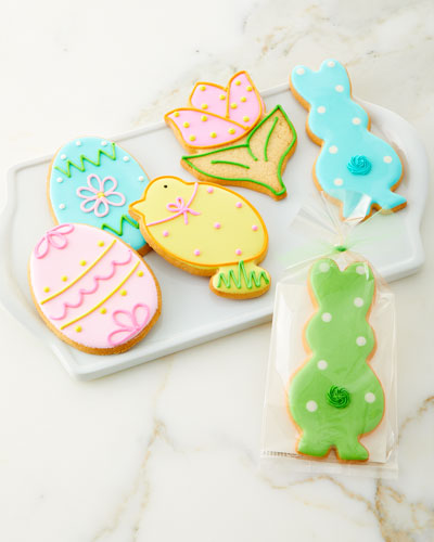 Assorted Easter Cookies  Set of 6