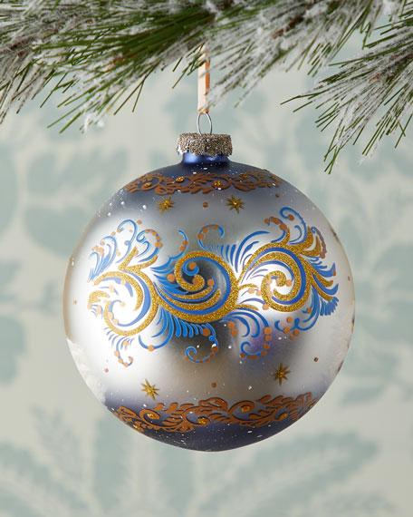 G. Debrekht Nostalgic Family Nativity Limited Edition Glass Ball