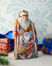G. Debrekht Christmas Workshop Wood-Carved Santa Limited Edition in Wooden Chest