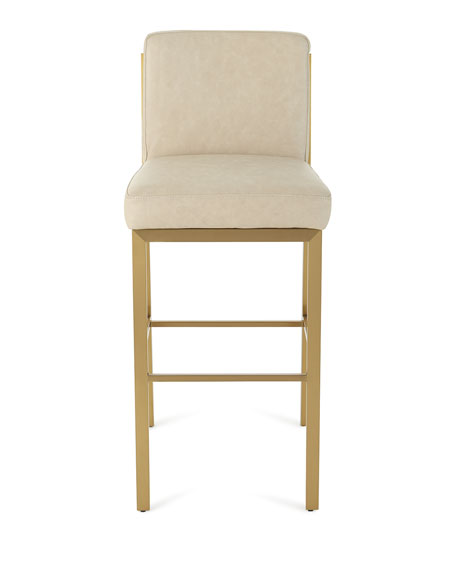 Regina Andrew Design Chantal Leather Bar Stool