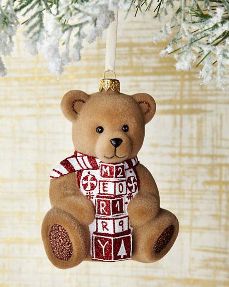 Mattarusky Ornaments Merry 2019 Bear Ornament