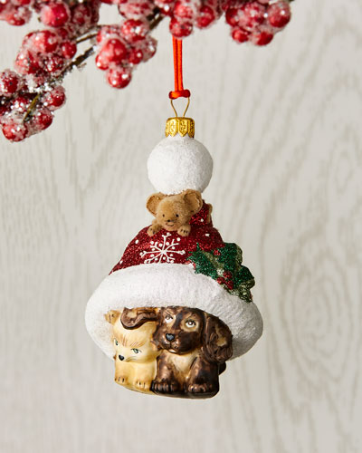 Our Feline Friends Ornament