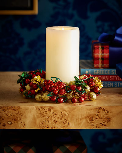 Majestic Holiday Candle Ring