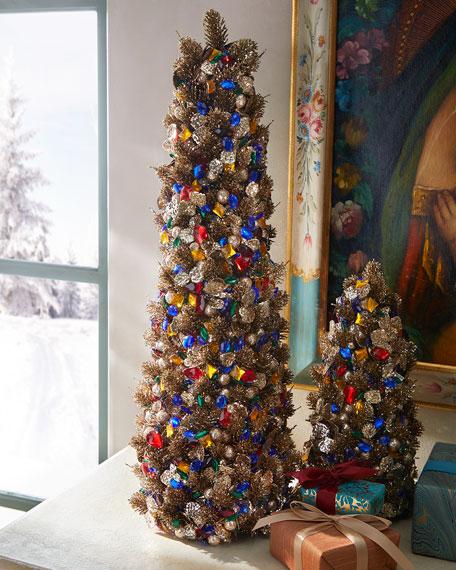 "Salzburg Creations 24"" Gemstone Glamour Tree"
