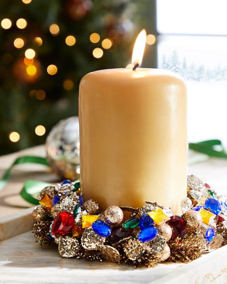 Salzburg Creations Gemstone Glamour Candle Ring