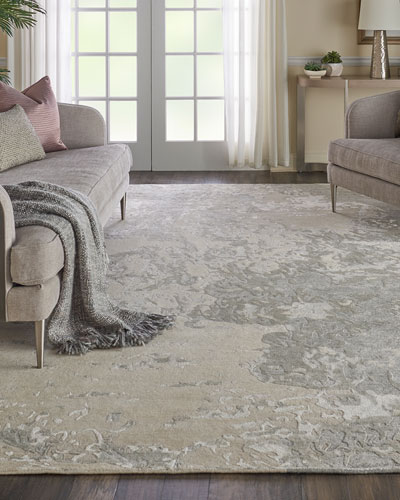 Hampton Hand-Knotted Rug  5' x 8'