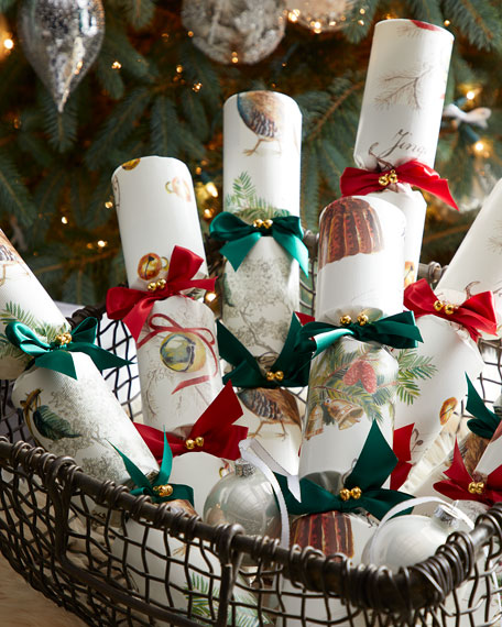Robin Reed Hand Bells Musical Crackers, Set of 8