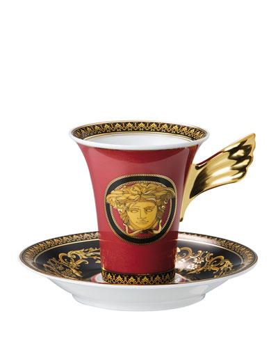 Medusa High Tea Cup & Saucer