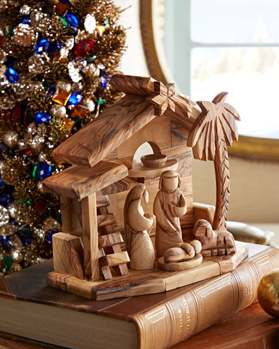 Holy Family with Crib