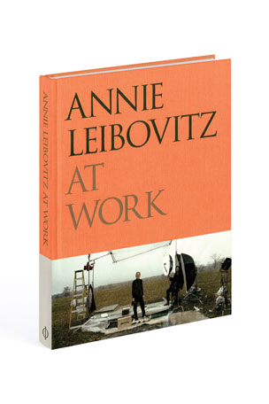 "Phaidon Press ""Annie Leibovitz at Work"" Unsigned Book"