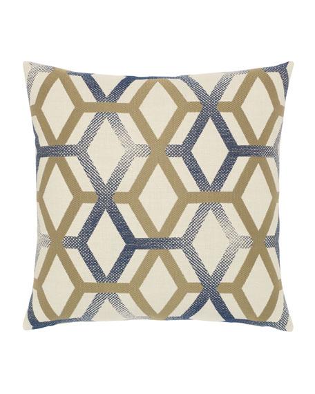Elaine Smith Luminous Lines Sunbrella Pillow