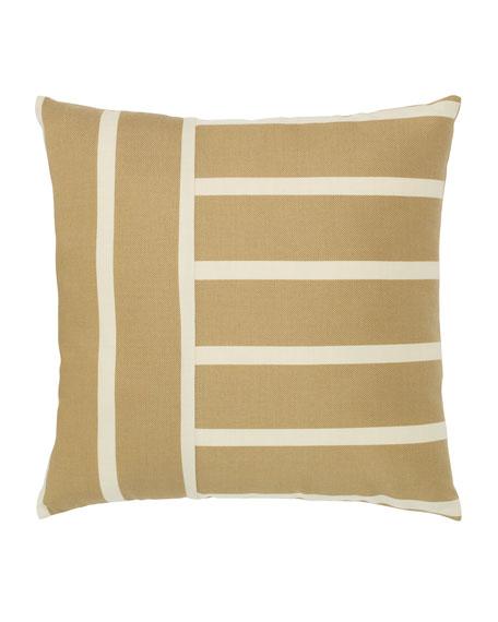 Elaine Smith Shine Stripe Sunbrella Pillow