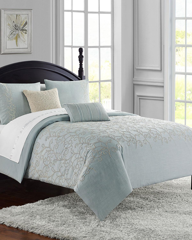 waterford gloria 3piece queen comforter set  neiman marcus