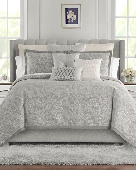 Waterford Aidan Reversible 4-Piece California King Comforter Set