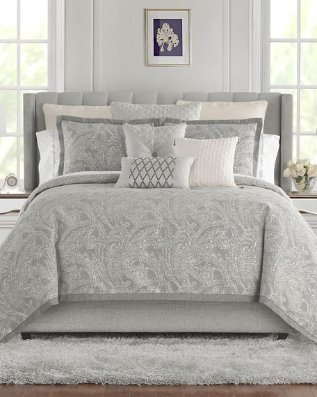 Waterford Aidan Reversible 4-Piece King Comforter Set