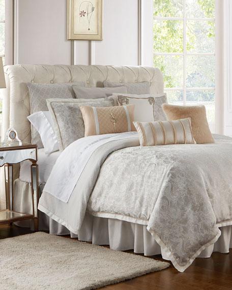Waterford Belissa Reversible 4-Piece Queen Comforter Set